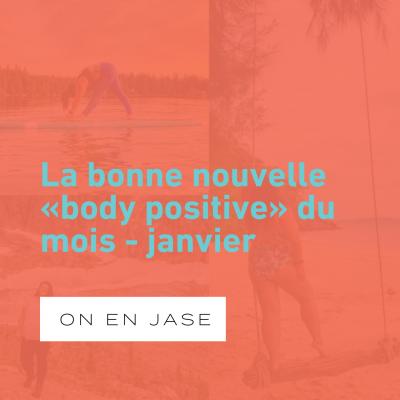 La bonne nouvelle «body positive» du mois: une photographe parle de diversité sur Instagram